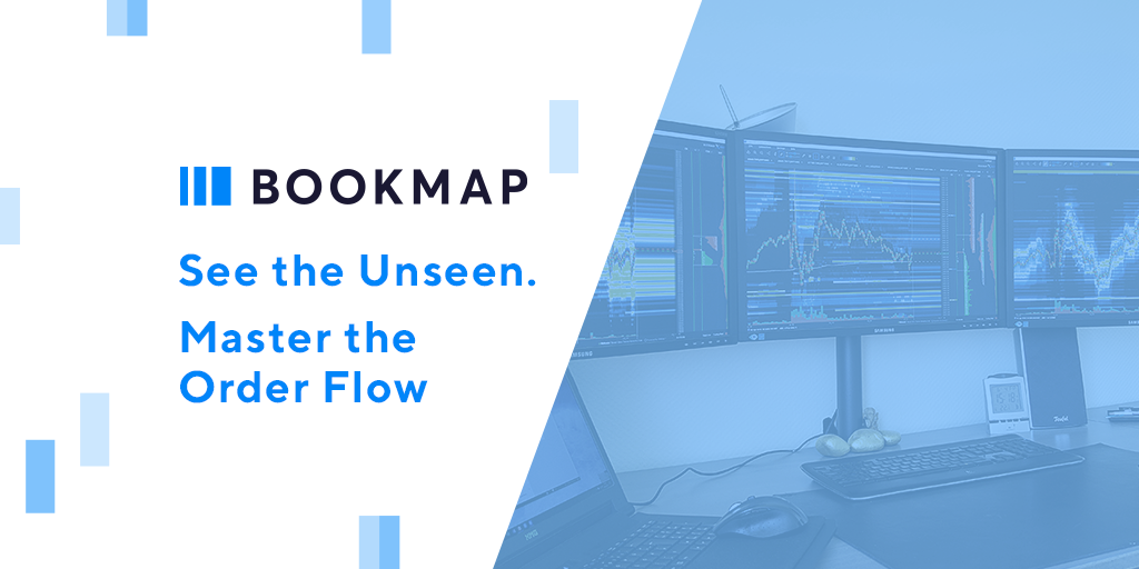 Master the order flow with Bookmap