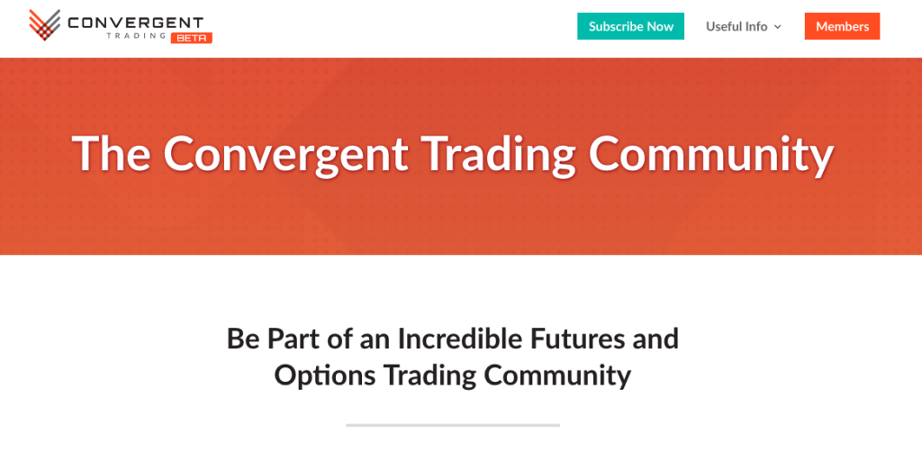 Convergent Trading by FuturesTrader71