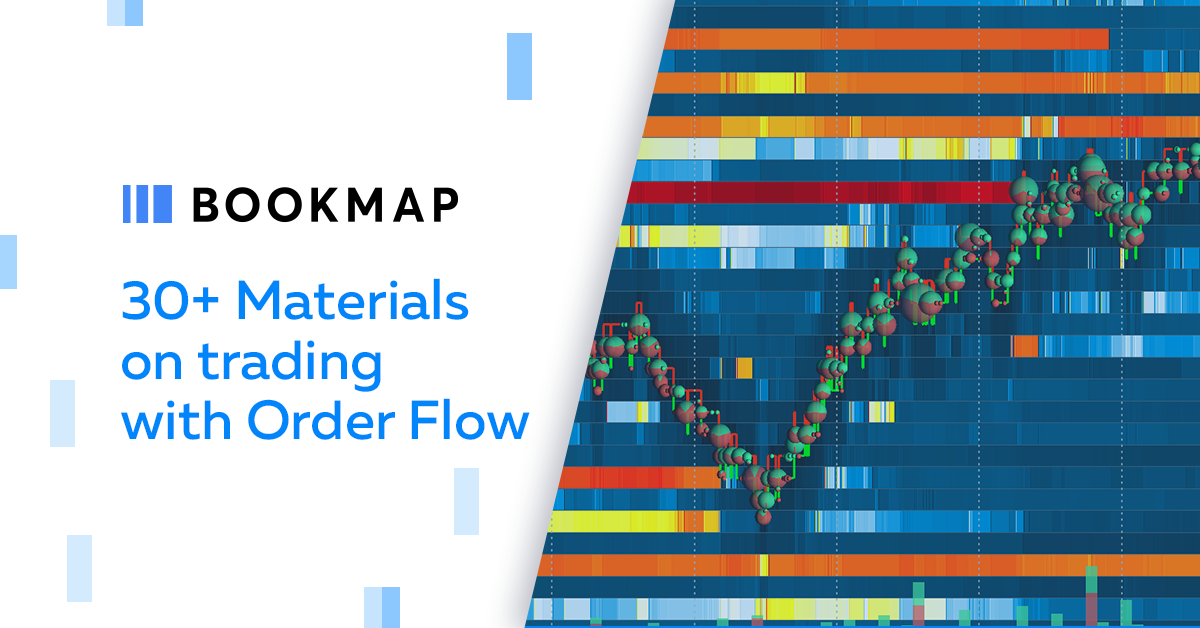 30+ materials to become an expert with Order Flow Trading | Bookmap
