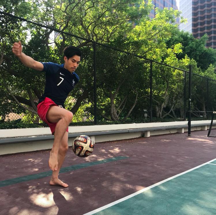Kicking the Ball. Madaz Money